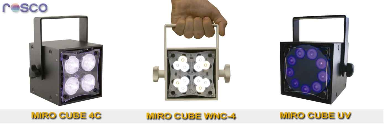 Miro cube rosco los nuevos proyectores led blog siluj - Proyectores de luz ...