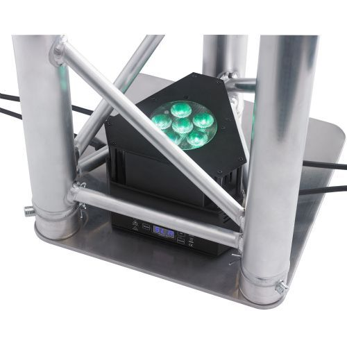 CONTEST PROYECTOR LED MINITRUSS 6TCb 6 LED x 3W RGB