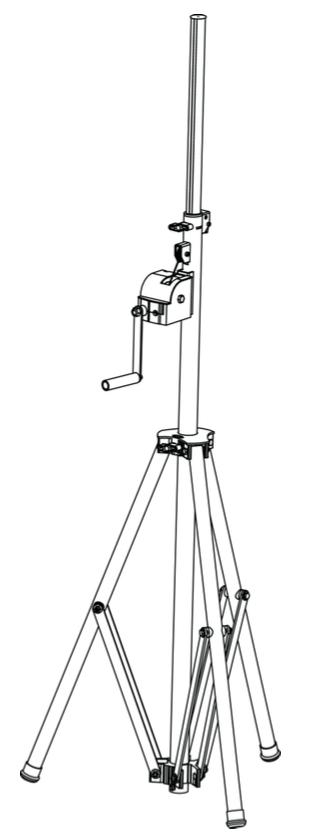 Nuevo trípode para iluminación ó sonido del fabricante Triton-Blue